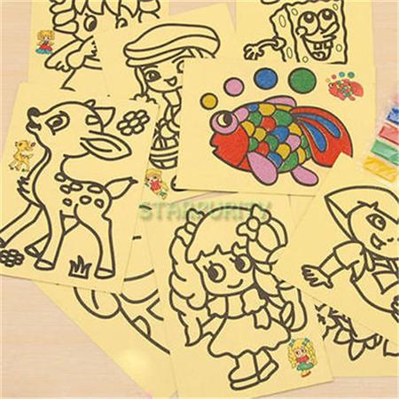 tổng buôn Tranh cát trẻ em , tranh nhựa tô , tranh vải tô