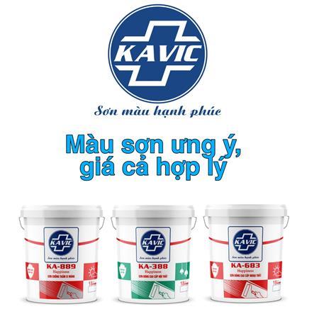 Sơn Kavic là lựa chọn hàng đầu của nhà thầu và thợ Sơn