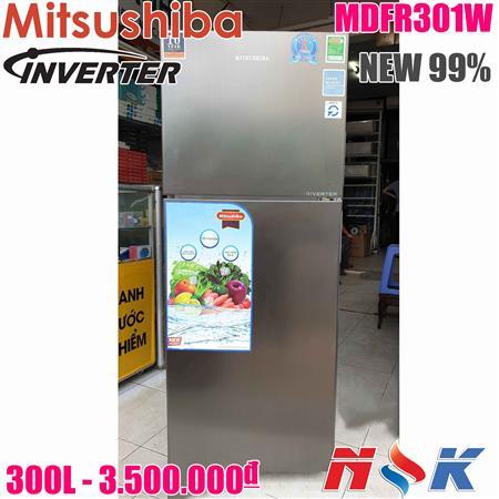 Tủ Lạnh Mitsushiba Inverter MDFR301W 300 lít hàng trưng bày
