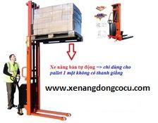 Xe nâng bán tự động Model SES15, XE NÂNG 1 tới 20 tấn,Giá rẽ