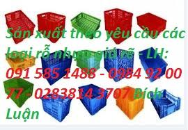 sóng nhựa hở VN04-HL, rỗ hở cao 1 tấc 9, rỗ đan  giá rẽ