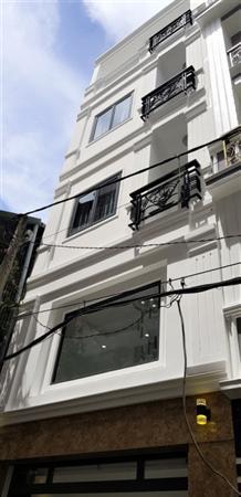 Nhà mới hẽm đẹp ôtô 4L Thích Quảng Đức P.4 Phú Nhuận