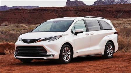 Toyota Sienna Limited 2021 nhập Mỹ
