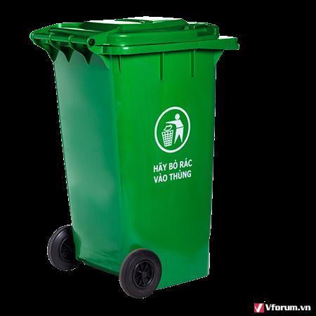 Cung cấp thùng rác nhựa 120 lit dùng trong gia đình