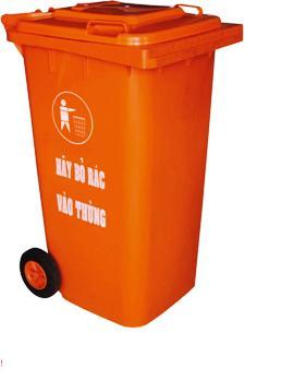 Nơi bán thùng rác nhựa 240 lit - Ms Thanh 0913 819 238