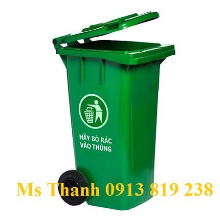 Giá thùng rác 120 lit tại Bến Tre -600k/thùng