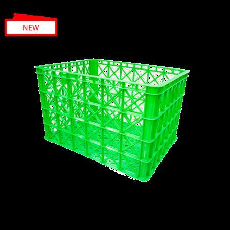 Sản xuất rổ nhựa 8 bánh xe đựng hàng công nghiệp - giao hàng