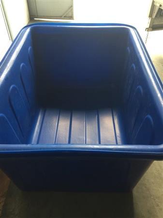 Bán thùng chữ nhật 500 lit dùng nuôi cá trồng rau