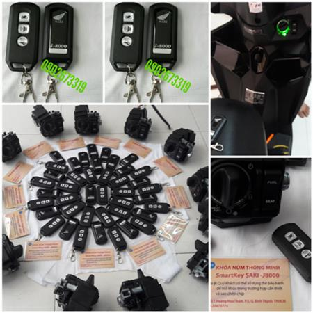 ổ khóa núm hãng honda smartkey-saki-j8000