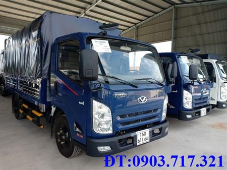 Bán xe tải IZ65 thùng bạt. Gía xe tải Đô Thành IZ65 - 2T2