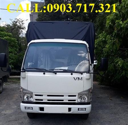 Xe tải Vĩnh phát VM 1T9 thùng 6m2. Bán xe tải Isuzu VM 1T9