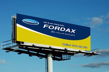 Sơn FORDAX tìm đại lý độc quyền