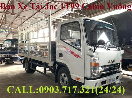 Bán xe Jac 1t9 đầu vuông. Xe tải Jac 1T9 máy Isuzu mới 2019