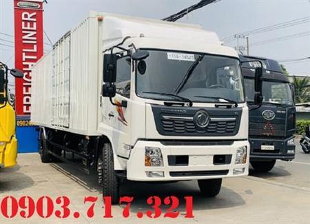 Bán xe tải DongFeng 7T6 thùng kín 9m7 cao 2m3
