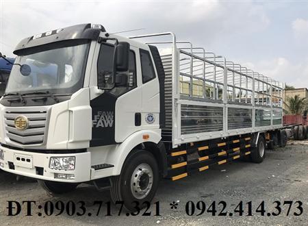 Xe tải Faw 7t25 thùng dài 10m. Xe tải Faw thùng dài mới 2019