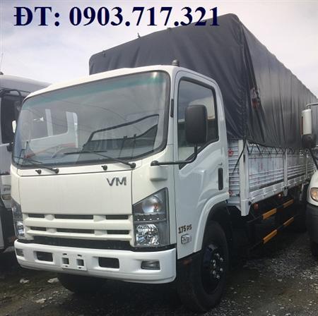 Bán xe tải Isuzu 8T2 nâng tải. Xe tải Vĩnh Phát 8T2 (VM 8T2)
