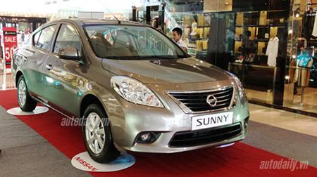 Nissan Sunny giá rẻ nhất thị trường hỗ trợ mọi thủ tục!