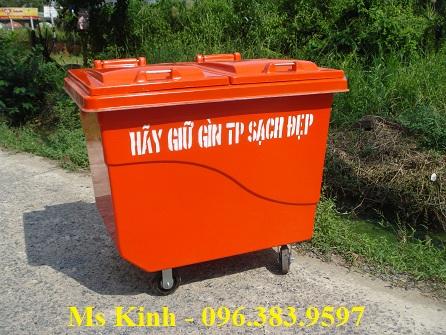 nơi bán thùng rác công cộng giá rẻ tại tphcm, thùng rác 120