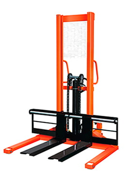 Xe nâng tay cao chân khuỳnh nâng 1 tấn cao 1.6M HS10/16W