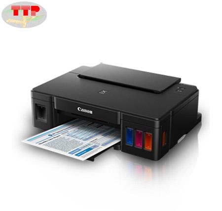 Máy in màu Canon Pixma G1010, bản in sắc nét, bền màu