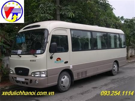 Cho thuê xe 29 chỗ, 35 chỗ, 45 chỗ đi Bãi Lữ lh 0915.702.015