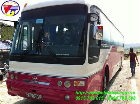 Cho thuê xe 45 chỗ univer noble tại Hà Nội lh 0904.795.598