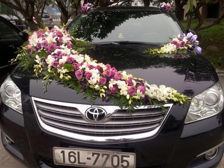 cho thuê xe cưới Toyota Camry lh 0915.702.015