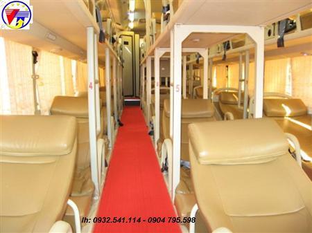 Cho thuê xe giường nằm tại Hà nội đi Đà Nẵng