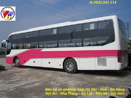 Cho thuê xe Nằm đi Cửa Lò, Nghệ An lh 0915.702.015