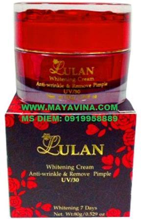 Kem Lulan Whitening Cream Chống Nắng Trắng da trị mụn nám tà