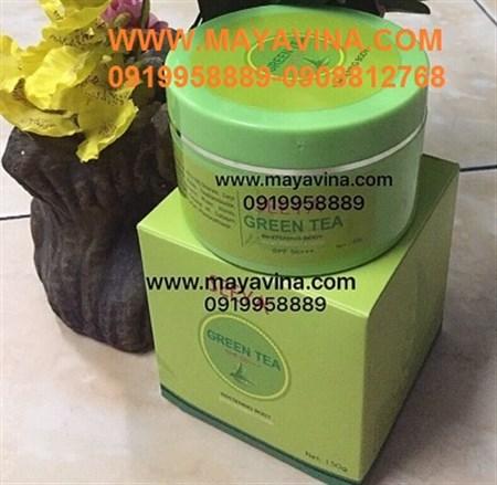 Kem Dưỡng Trắng Toàn Thân Body SEEYA Green Tea
