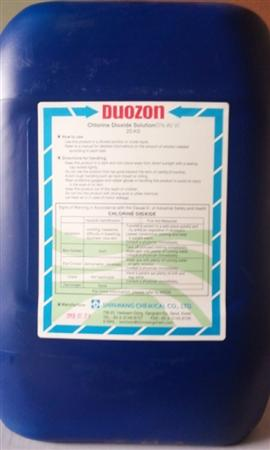 Chlorine Dioxide lỏng 5% làm sạch trái cây và hải sản