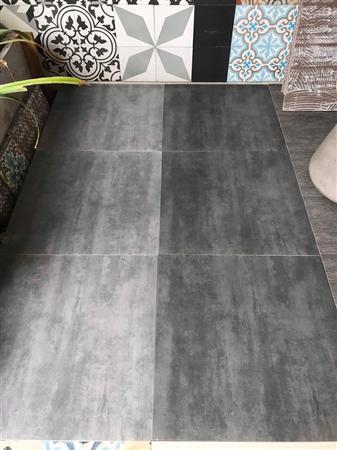 Gạch granite màu xám xi măng