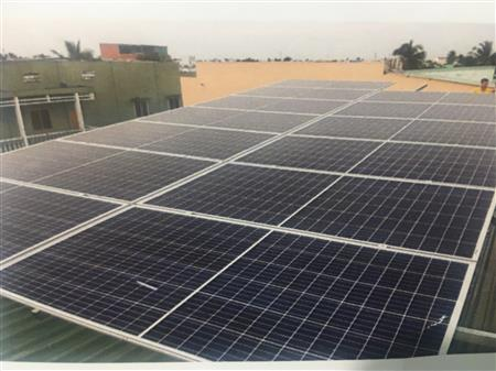 Lắp hệ thống Điện năng lượng mặt trời Tại Tiền Giang Long An