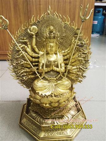 Tượng Phật Bà nghìn mắt nghìn tay, thiên thủ thiên nhãn