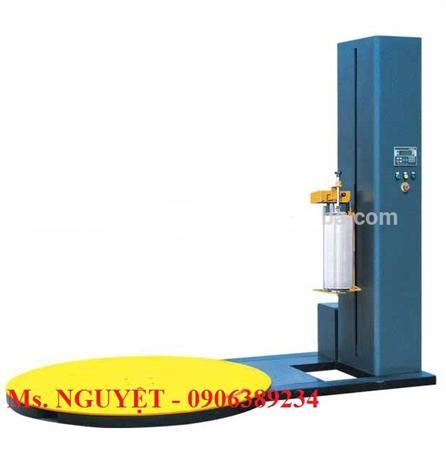 Máy Quấn Màng PALET Tự Động WP55, máy quấn màng PE pallet