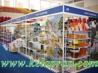 CHO THUÊ Kệ Trưng bày Hội chợ triển lãm, lắp đặt kệ phòng mẫ