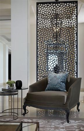 Vách ngăn hoa văn cnc - điểm nhấn hiện đại cho phòng khách