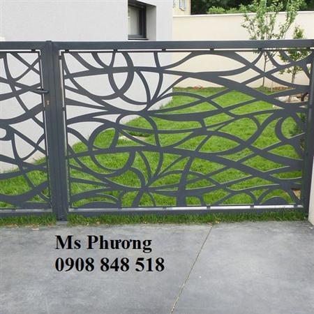 Thiết kế, gia công CNC trọn gói hàng rào sắt nghệ thuật
