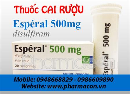 Thuốc cai rượu Esperal 500mg