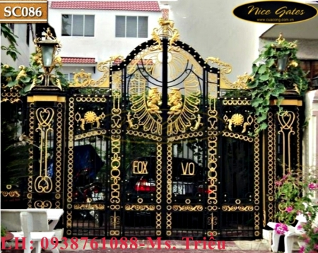 Cửa Cổng Sắt Mạ Kẽm, Sơn Tĩnh Điện: Thách Thức Mọi Thời Tiết