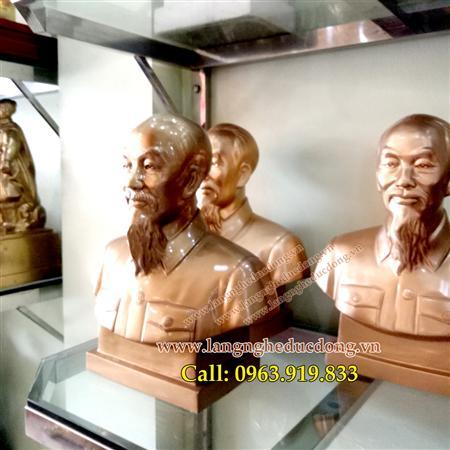 Tượng Bác Hồ, bằng đồng,Tượng chân dung, bán thân Bác Hồ,Tượ