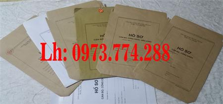 Túi đựng hồ sơ cán bộ công chức