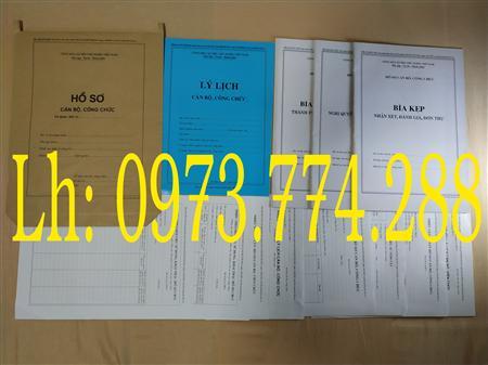bán hồ sơ cán bộ công chức tại hà nội
