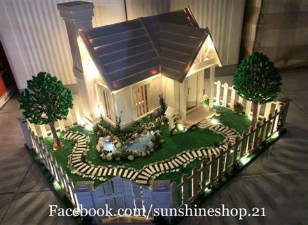 Mô hình nhà tuyết - Quà tặng độc đáo cho mùa giáng sinh 2021