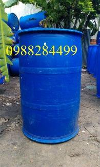 thùng phuy nhựa thùng phuy sắt hàng nhập khẩu giá rẻ LH