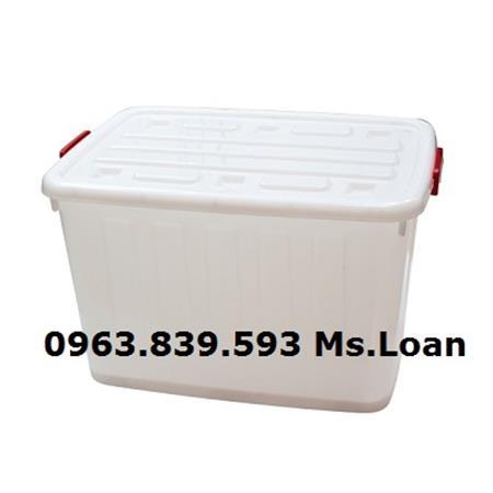 Thùng nhựa đựng đồ dùng, thùng nhựa đa năng 120L giá rẻ nhất