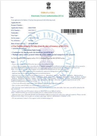 Bao Đậu Làm Khẩn Visa Ấn Độ Online 1 Năm Nhiều Lần