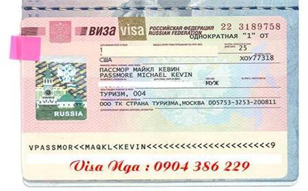Làm Visa Đi Nga Trọn Gói Không Có Thư Mời