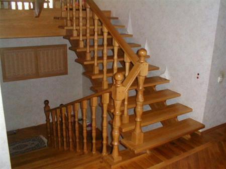 Nhận đóng cầu thang / cầu thang gỗ, cầu thang kính